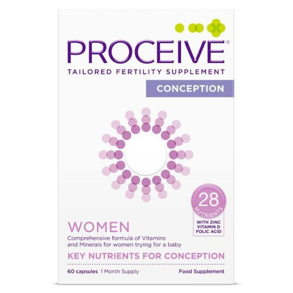 Proceive Advanced Fertility Supplement Women 60 Capsules - Medipharm Online