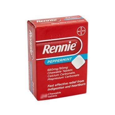 Rennie Peppermint Tablets - Medipharm Online - Cheap Online Pharmacy Dublin Ireland Europe Best Price