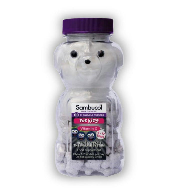 Sambucol Kids Teddies - 60 tabs - Medipharm Online - Cheap Online Pharmacy Dublin Ireland Europe Best Price