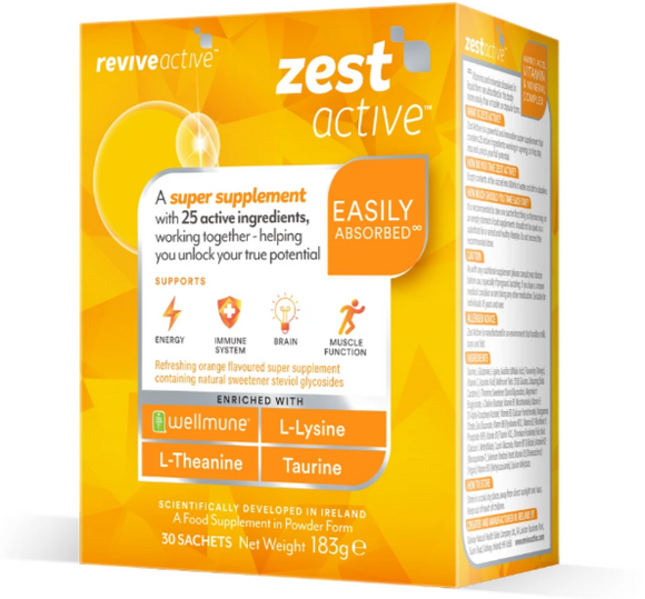 Revive Active Zest 30 Pack - Medipharm Online