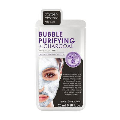 Skin Republic Bubble Purifying + Charcoal Face Mask - Medipharm Online - Cheap Online Pharmacy Dublin Ireland Europe Best Price
