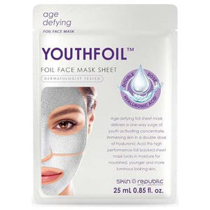Skin Republic Youthfoil Face Mask Sheet 25ml - Medipharm Online - Cheap Online Pharmacy Dublin Ireland Europe Best Price