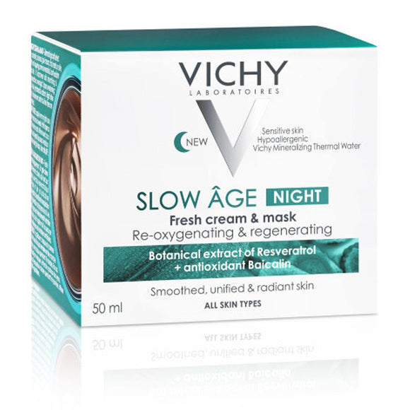 Vichy Slow Âge Night Cream & Anti Aging Mask 50ml