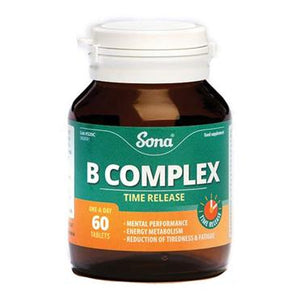 Sona B Complex 60 Tablets - Medipharm Online - Cheap Online Pharmacy Dublin Ireland Europe Best Price