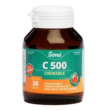 Sona Chewable C500 30 Tablets