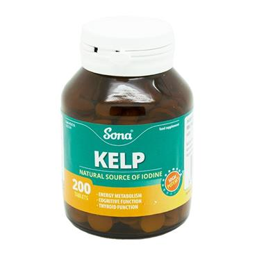 Sona Kelp 200 Tablets - Medipharm Online - Cheap Online Pharmacy Dublin Ireland Europe Best Price