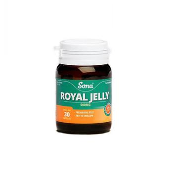 Sona Royal Jelly 30 Capsules - Medipharm Online - Cheap Online Pharmacy Dublin Ireland Europe Best Price
