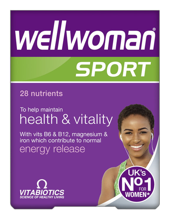 Vitabiotics Wellwoman Sport And Fitness 30 Pack