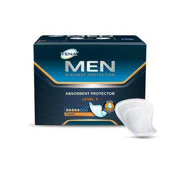 Tena Men Pads Level 3 8 Pack - Medipharm Online - Cheap Online Pharmacy Dublin Ireland Europe Best Price