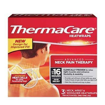 ThermaCare 12 Hour Heatwraps Upper Back Neck Shoulder & Wrist 3 Pack - Medipharm Online - Cheap Online Pharmacy Dublin Ireland Europe Best Price