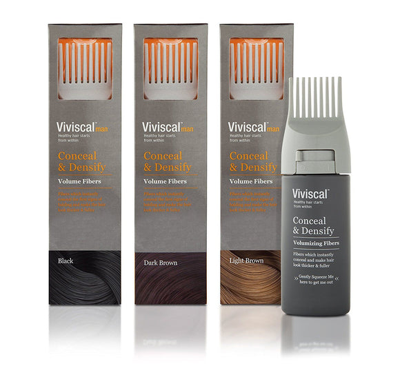 Viviscal Conceal and Densify Volumizing Hair Fibres For Men - Medipharm Online - Cheap Online Pharmacy Dublin Ireland Europe Best Price