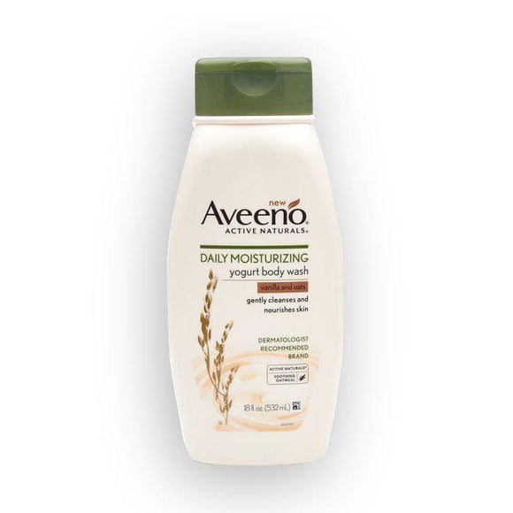 Aveeno - Vanilla & Oats  Bodywash - 300ml - Medipharm Online - Cheap Online Pharmacy Dublin Ireland Europe Best Price