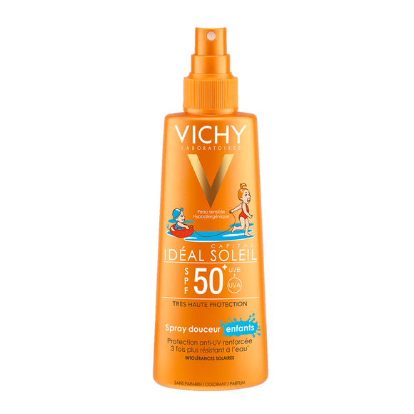 Vichy Capital Soleil Face & Body Spray For Children SPF 50+ - 200ml - Medipharm Online - Cheap Online Pharmacy Dublin Ireland Europe Best Price