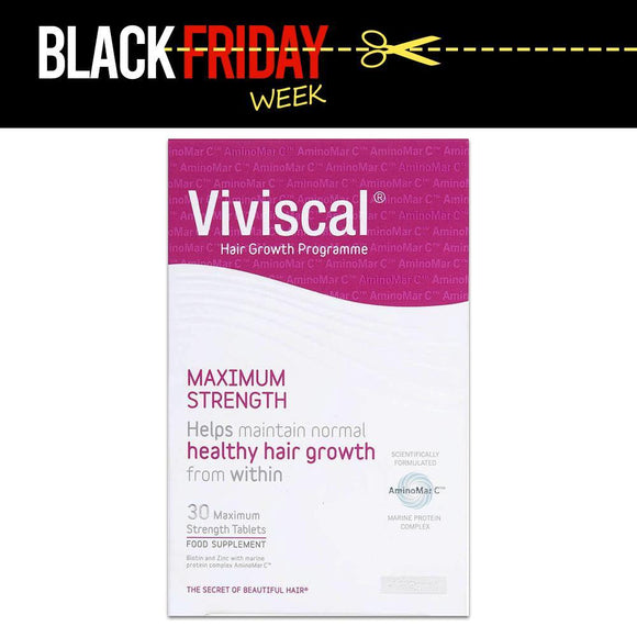 Viviscal Maximum Strength Hair Growth Supplement 30 Pack
