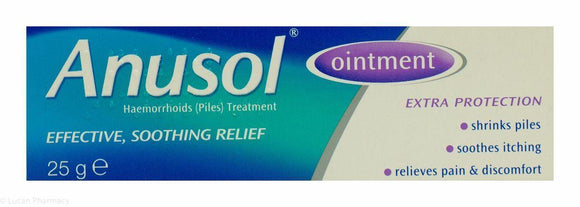 Anusol Ointment - 25g - Medipharm Online