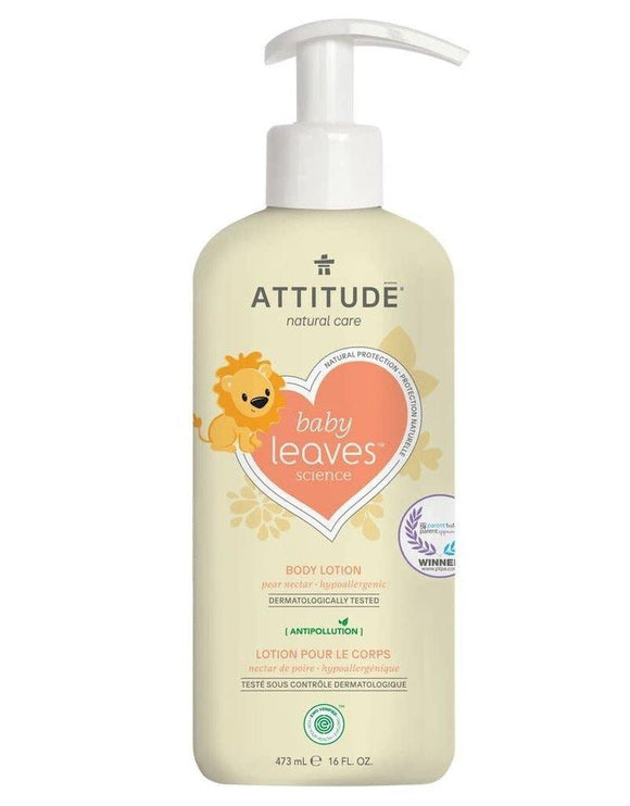 Attitude Baby Leaves Natural Body Lotion 473ml - Medipharm Online