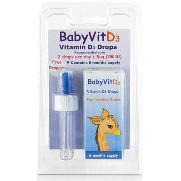 BabyVit D3 Vitamin D3 Drops 6 Months Supply