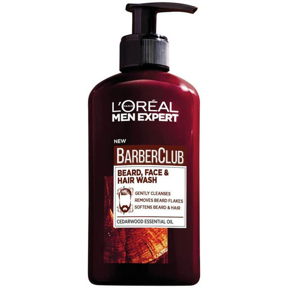 Loreal Men Expert Barber Club Beard, Face & Hair Wash