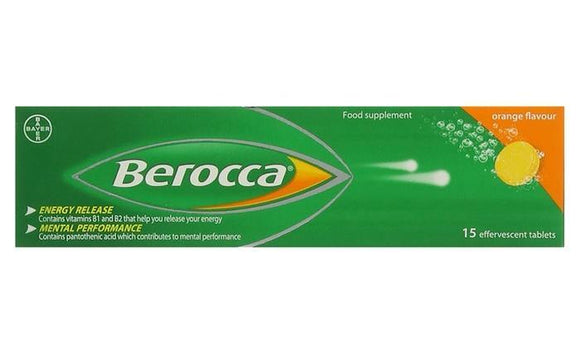 Berocca 15 Effervescent Tablets