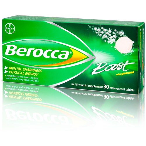 Berocca - Boost Tablets Effervescent - 30 Tablets - Medipharm Online - Cheap Online Pharmacy Dublin Ireland Europe Best Price