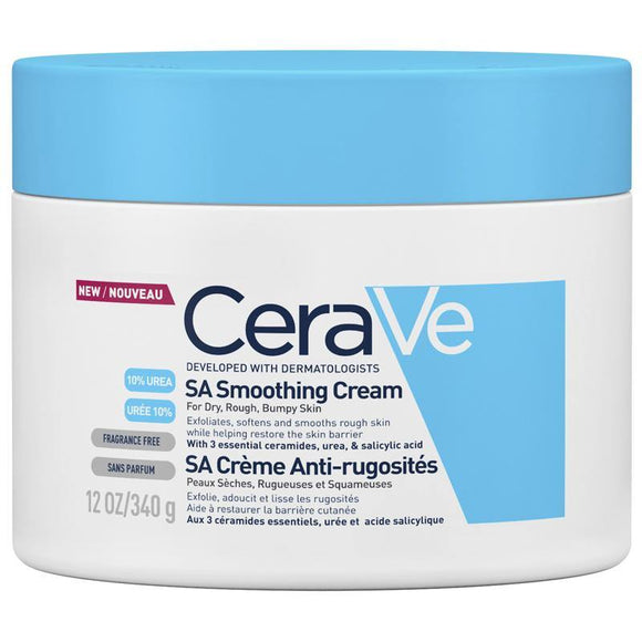 CeraVe SA Smoothing Cream For Dry, Rough, Bumpy Skin