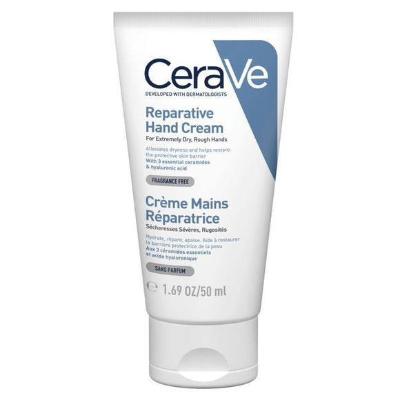 CeraVe Reparative Hand Cream For dry to Very Dry Skin 50ml - Medipharm Online