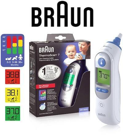Braun - Thermoscan 7 Ear Thermometer IRT 6520 - Medipharm Online - Cheap Online Pharmacy Dublin Ireland Europe Best Price
