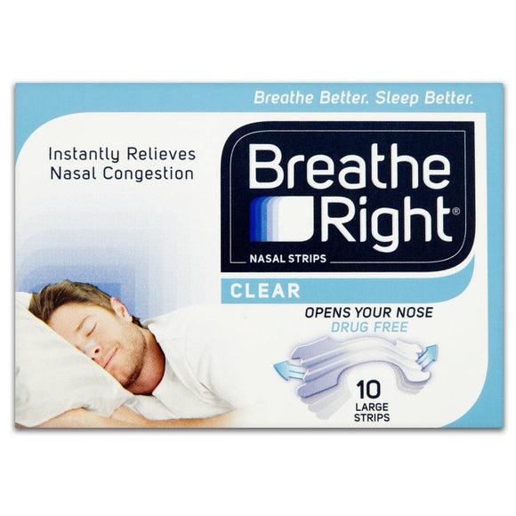 BREATHE RIGHT® Extra Strength Clear