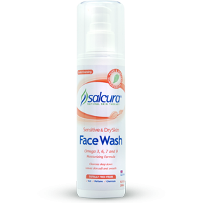 Salcura Omega Rich Face Wash - Medipharm Online Pharmacy Dublin Ireland - medipharm.ie
