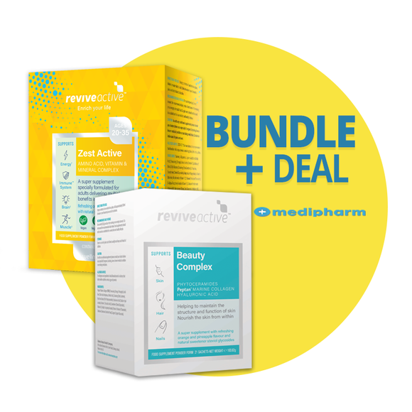 Bundle Deal Revive Zest 30 sachets + Revive Beauty Complex 21 sachets