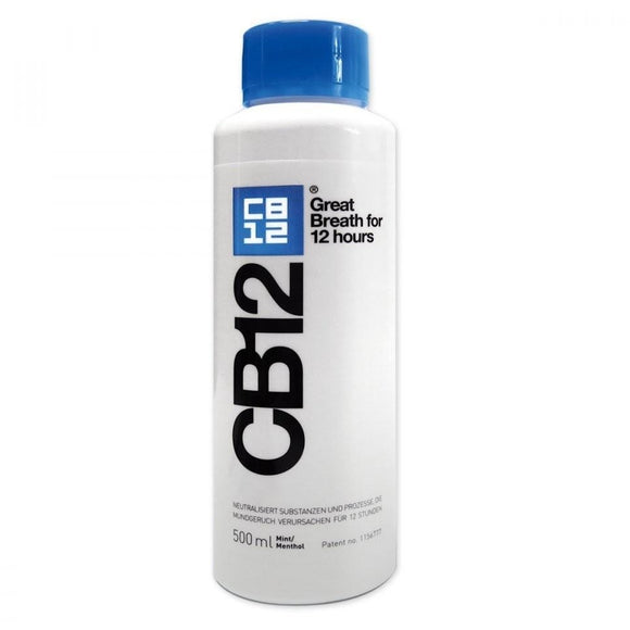 CB12 Mouthwash Mint/Menthol 500ml - Medipharm Online Pharmacy Dublin Ireland - medipharm.ie