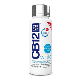 CB12 Mouthwash White 500ML