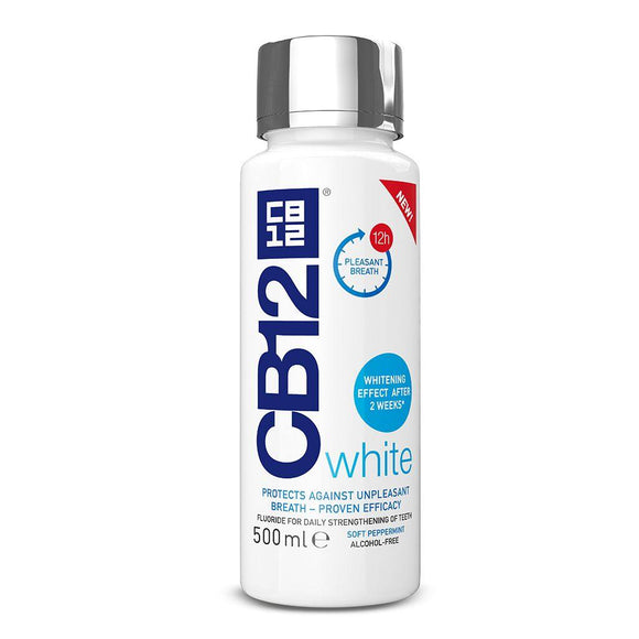CB12 - Mouthwash White - 500ml - Medipharm Online - Cheap Online Pharmacy Dublin Ireland Europe Best Price