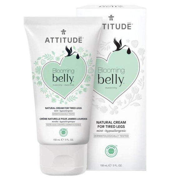 Attitude Blooming Belly Natural Cream for Tired Legs 150ml