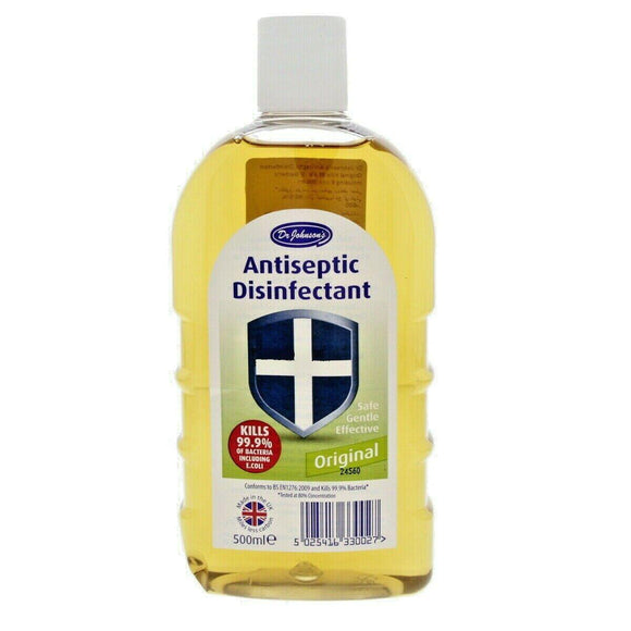 Dr Johnson's Antibacterial Antiseptic Disinfectant Original 500ml