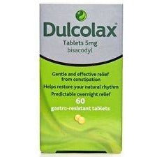 Dulcolax 5mg Gastro-Resistant 60 Tablets - Medipharm Online - Cheap Online Pharmacy Dublin Ireland Europe Best Price