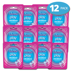 Durex Vibrations Ring Play X 12 Pack - Medipharm Online