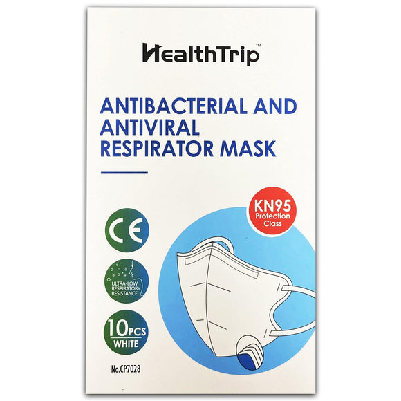 Face Mask Protective KN95 with Adjustable Nose Clip Pack of 10