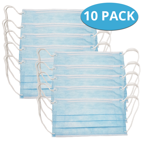 Face Mask  Pack of 10  COVID-19 Alert Essential