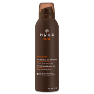 Nuxe Men's Shaving Gel 150ml - Medipharm Online Pharmacy Dublin Ireland - medipharm.ie