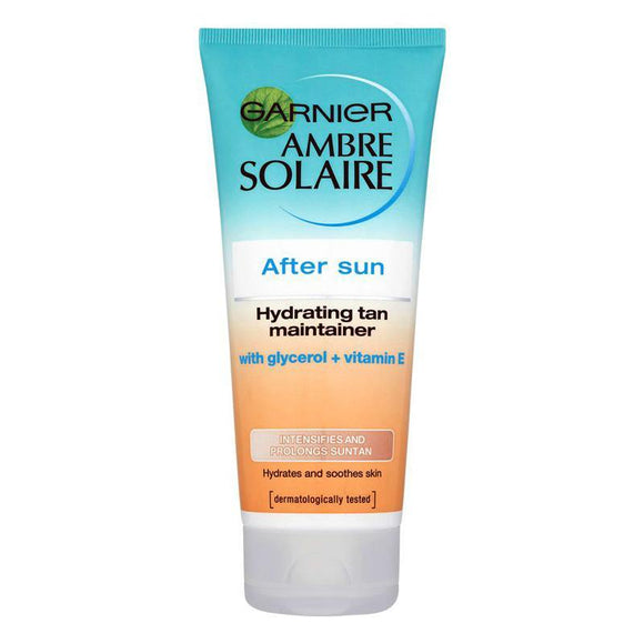 Garnier Ambre Solaire - After Sun Cream - Hydrating Tan Maintainer - 200ml - Medipharm Online - Cheap Online Pharmacy Dublin Ireland Europe Best Price