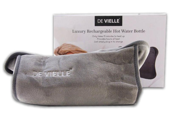 De Vielle Electric Rechargeable Hot Water Bottle