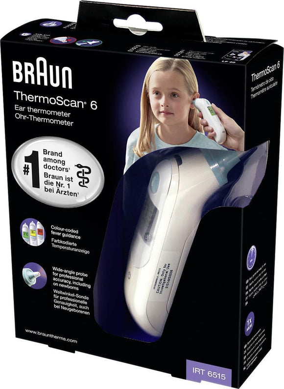 Braun Thermoscan 6 Ear Thermometer - Medipharm Online