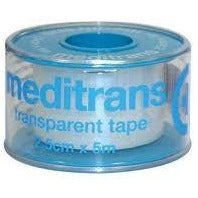 Meditrans transparent tape - Medipharm Online Pharmacy Dublin Ireland - medipharm.ie