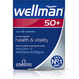 Vitabiotics Wellman 50+ - Medipharm Online - Cheap Online Pharmacy Dublin Ireland Europe Best Price