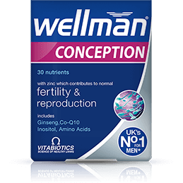Vitabiotics Wellman Conception - Medipharm Online - Cheap Online Pharmacy Dublin Ireland Europe Best Price