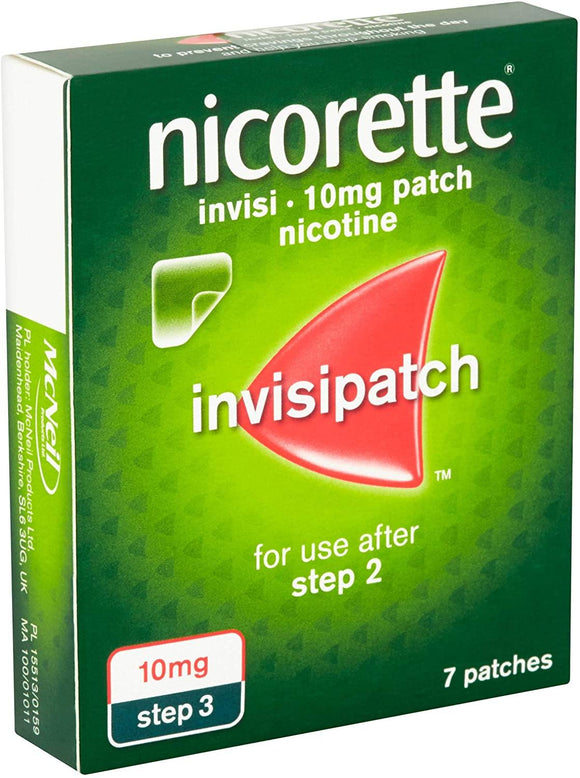 Nicorette Invisi 10mg Patches