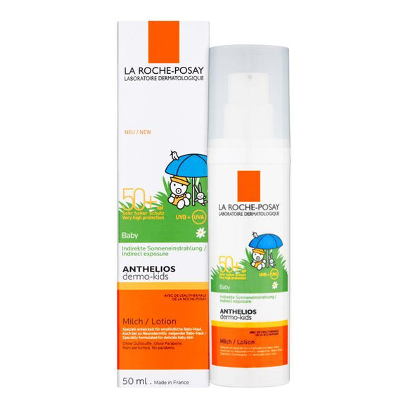 La Roche-Posay - Anthelios - SPF 50+ Dermo-Pediatrics Baby Lotion - 50ml - Medipharm Online - Cheap Online Pharmacy Dublin Ireland Europe Best Price
