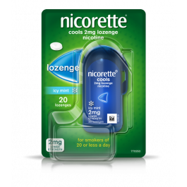 Nicorette Cools Icy Mint 2mg Lozenges 20 Pack - Medipharm Online