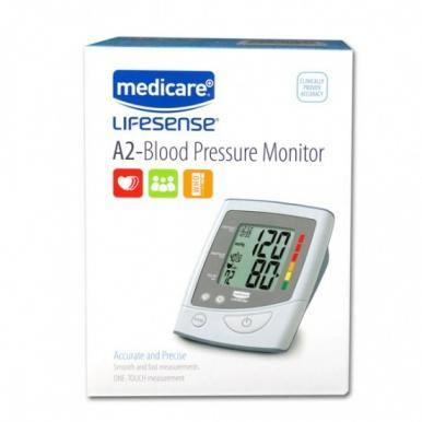 Medicare A2 Automatic Upper Arm Blood Pressure Monitor